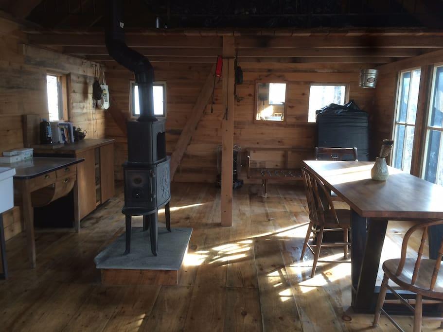 Cabin/first floor
