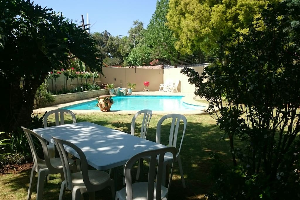 Pool towels, BBQ/braai and lawn furniture are available on request.