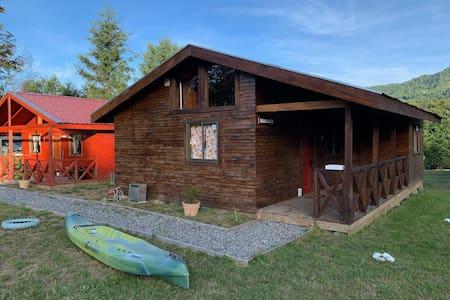 cabaña Altoroble5, nueva equipada, piscina quincho