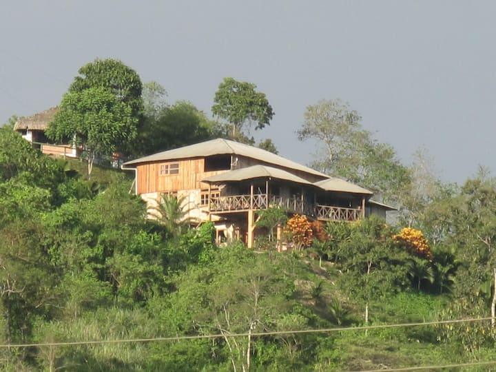 Cabaña Mirador Ayampe2 100m2, Vista Panoramica