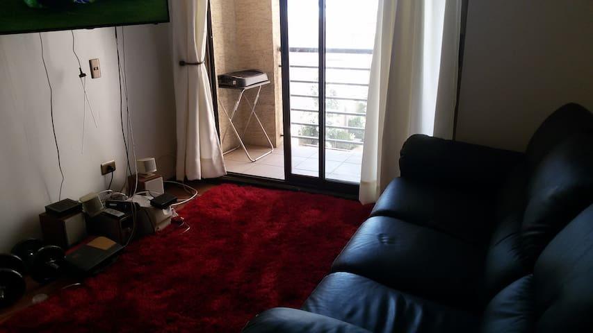 Alojamiento Parque Ohiggins - Santiago - Apartemen