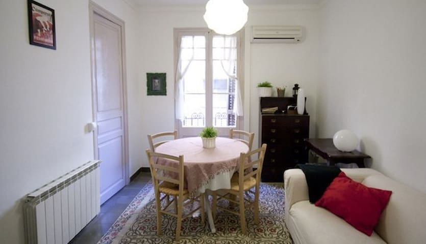 Great apartment in Center-Gràcia