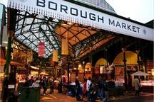 Borough Market, opposite London Bridge