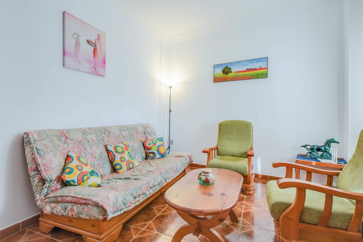 Beachside Apartment Casa Loli with Patio, Wi-Fi & Air Conditioning; Parking Available