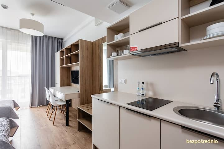 Apartment finished to high specification in Warsaw