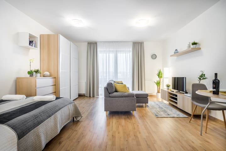 Marina apartment at Danube + FREE PARKNIG