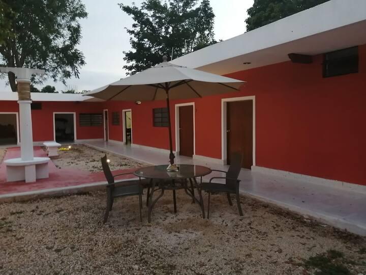 Habitaciones disponibles en Quinta de Mérida