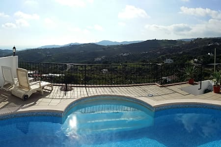 La Fuente Vieja. 2 Pools. Free Wifi. Official. - Frigiliana - Apartamento