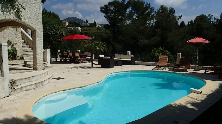 Luxury villa with pool in Nice for up to 11 pers. - Nice - Villa