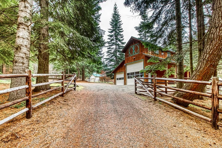 Premium Cleaned | Studio apartment - country living close to downtown Cle Elum, Roslyn, & golf