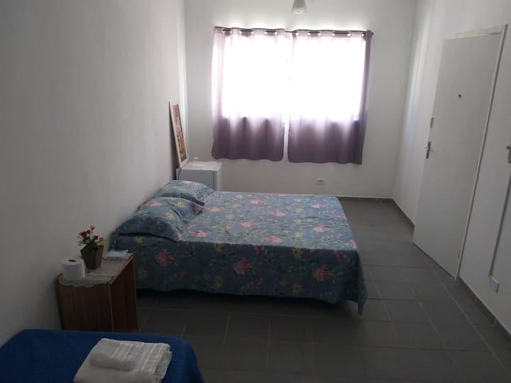 Suite para temporada, férias no Guarujá