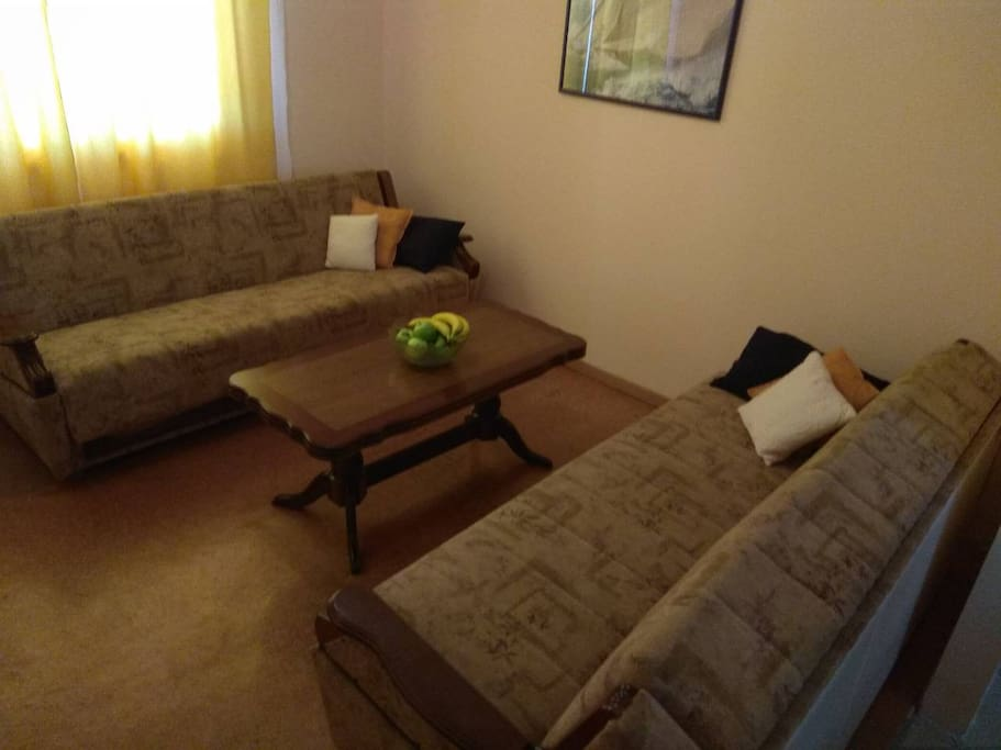 2 Sofa Comfy Beds in Living Room