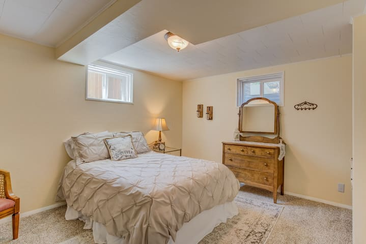 NEW! Charming private bedroom with living space!