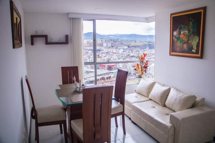❤Penthouse Entero ★Vista 360° ★ Wifi ★ Free Park❤