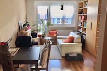 Helles modernes Apartment Uni Nähe