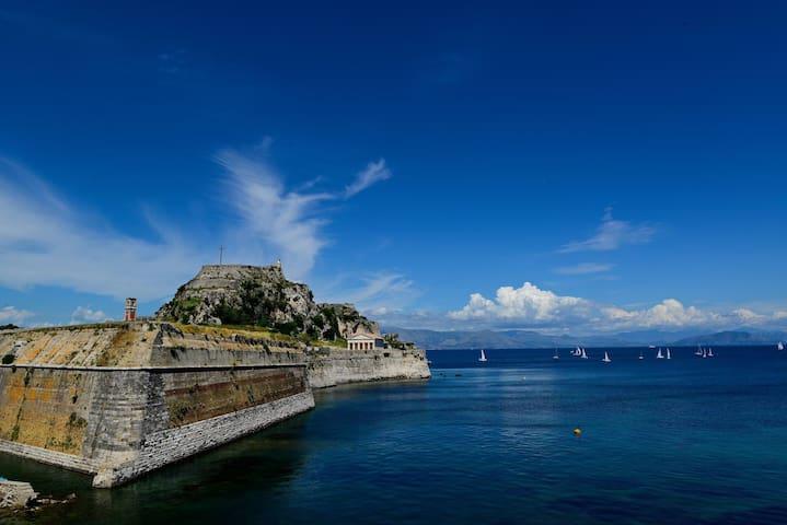 Apt for 2 near to Corfu historic center - Kerkira - Apartment