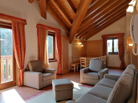 Asiago Sporting Lodge 10 caminetto - 4/5 persone