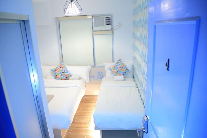 1min MTR@尖沙咀温馨家庭房 Cozy Family Room
