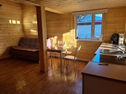 Уютный гостевой дом с мезанином