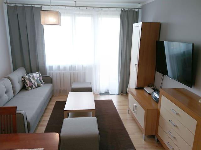 Samodzielne, komfortowe mieszkanie.