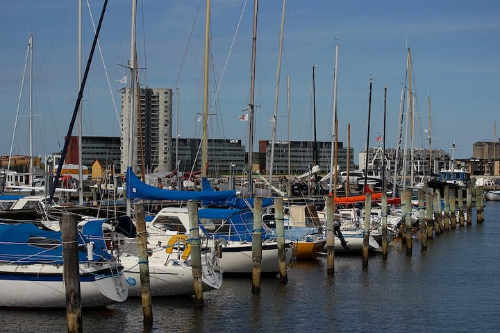 Nice Apartment Aalborg C at the marina.