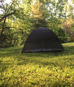 A beautiful spot to camp.  Berks County back roads