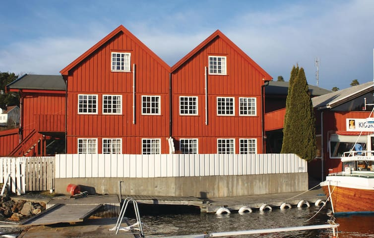 Holiday apartment with 3 bedrooms on 70m² in Tvedestrand