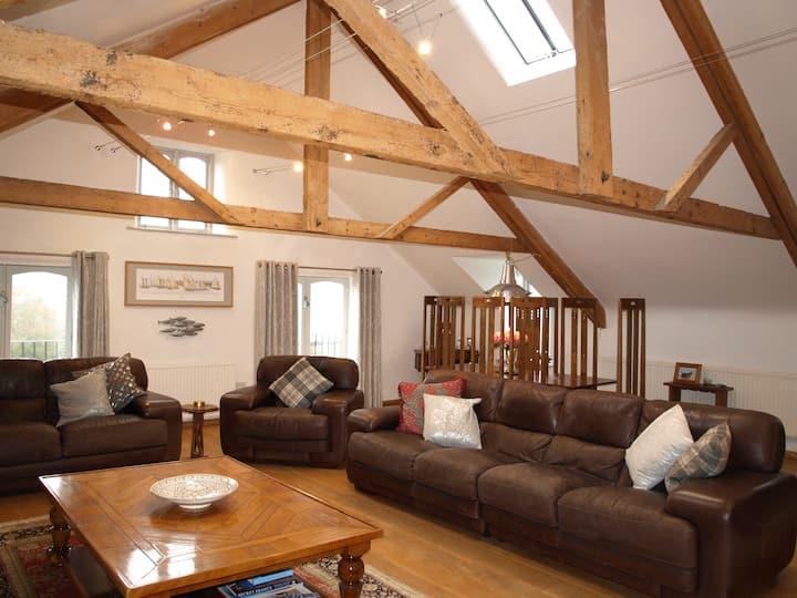 The Malthouse, barn conversion in south Devon