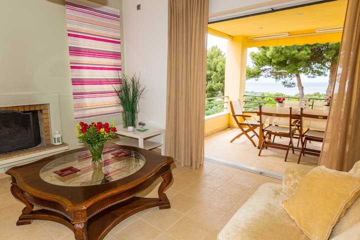 Stylish, charming & spacious house with sea view