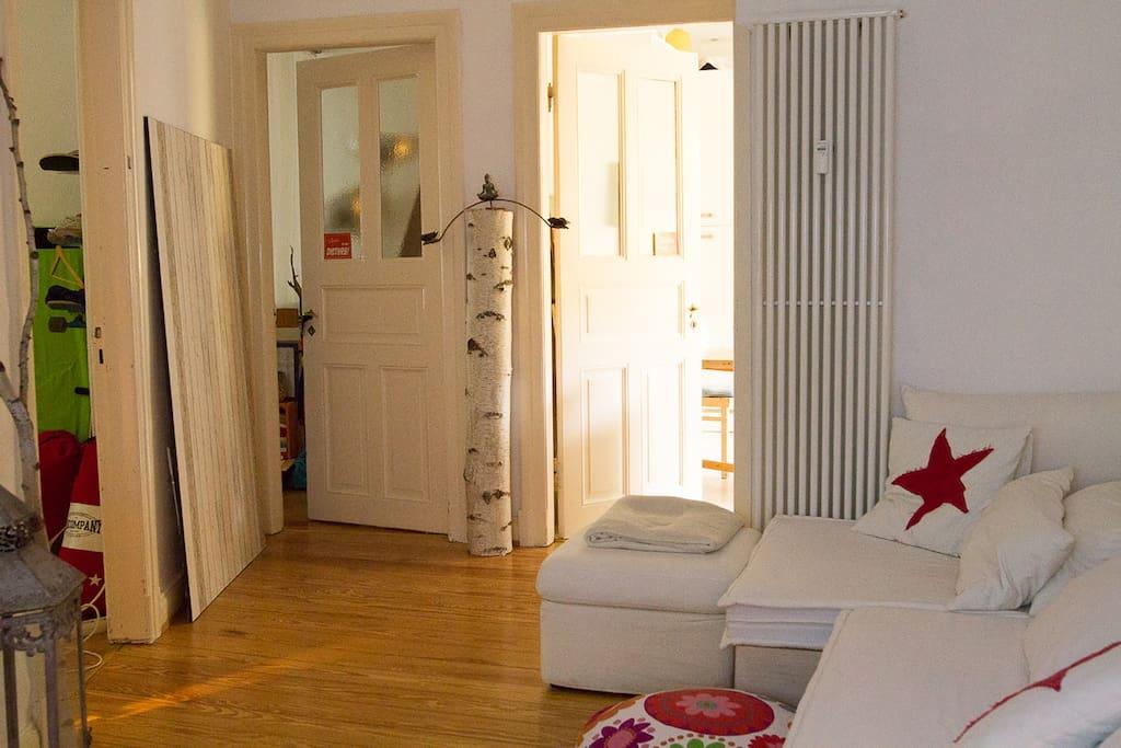 Wohnzimmer Durchgangszimmer