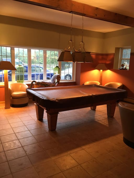 Pool table!