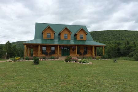Margaree Valley Log House