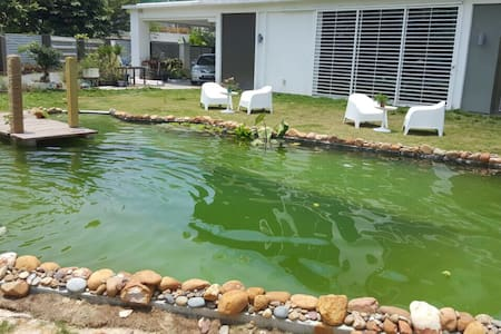Private Natural swimming pool house - Puchong - Villa