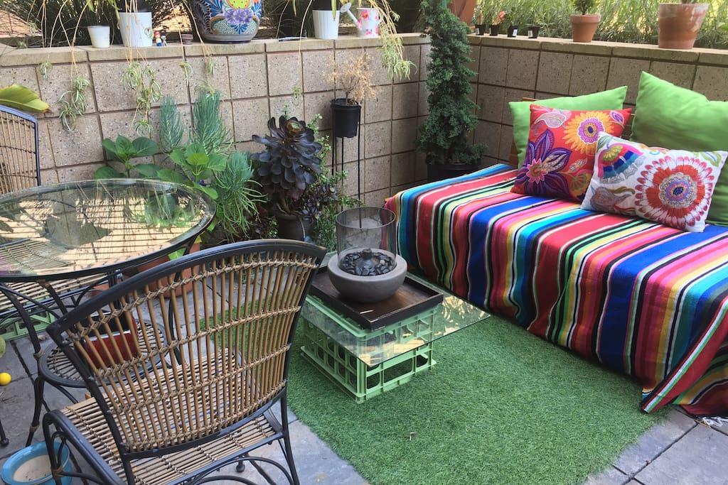 Private patio #2
