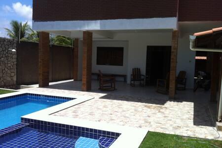 Casa 4 quartos com piscina na praia do Francês - Marechal Deodoro