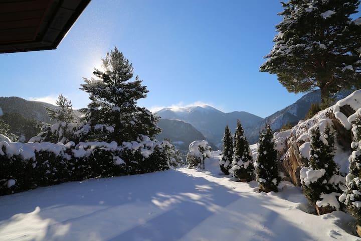 Chalet-Apt exclusif vue exceptionnelle près pistes