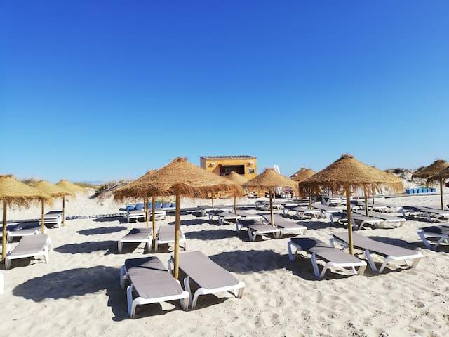 Praia / Beach.