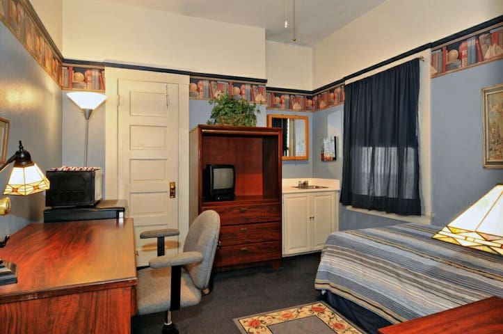 Single room with lock & key gaslamp - San Diego - Bed & Breakfast
