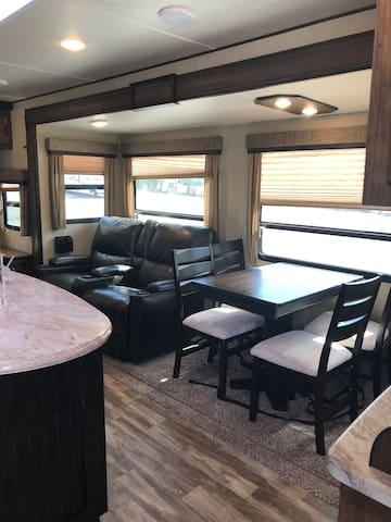 Beautiful  spacious  RV travel trailer