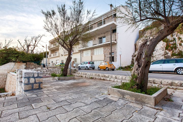 391 Sea Front House in Castro - Marina di Marittima - Lejlighed