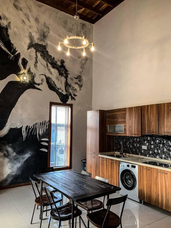 Bridge apartments/ 2 bedroom loft apt 14
