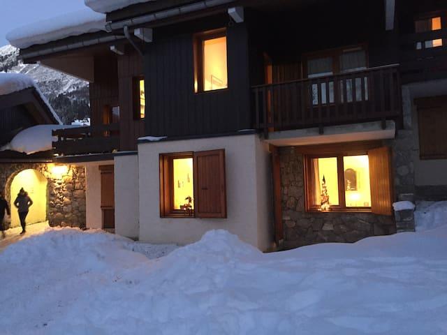 Appartement skis aux pieds - Les Avanchers-Valmorel - Departamento
