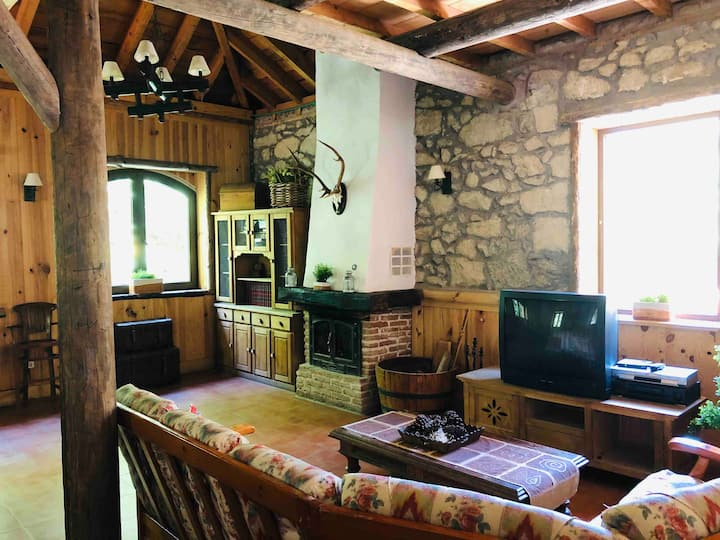 La Posada - Casa rural con chimenea