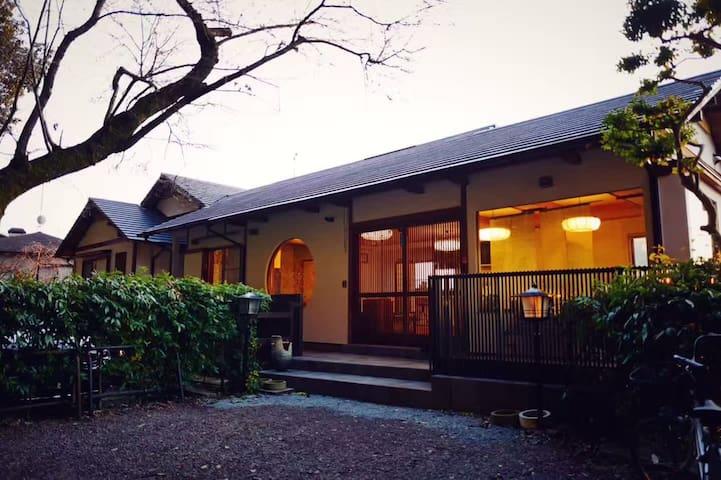 和风庭院,与世界文化遗产法然院零距离,哲学之道旁日式豪宅,高级住宿享受