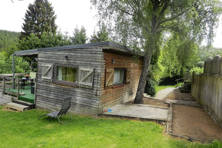 Charmant chalet avec sauna à Stoumont