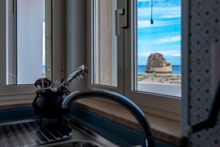 Casa sulla spiaggia Torre Pali - Playta