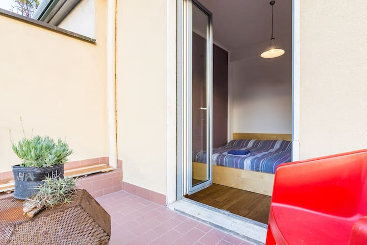 Rooftop Bedroom with Big Terrace | Turro, Milan