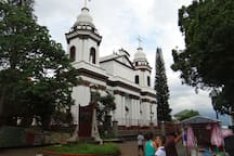 Cathedral of Alajuela, at Central Park