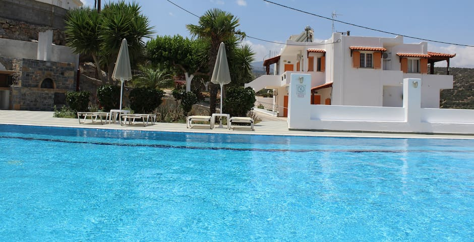 Studio for 2-3 persons ,Villa Angela