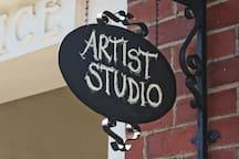 Caroline Askew's studio